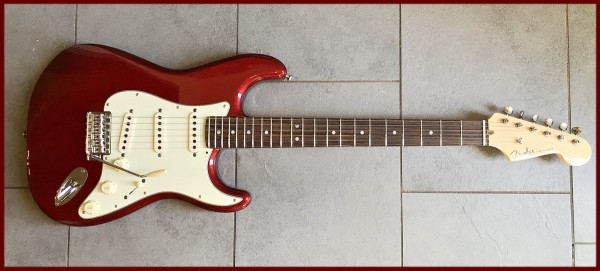 Kloppicaster Strat, CAR, Rosewood Fingerboard, ON HOLD! Fender US Parts