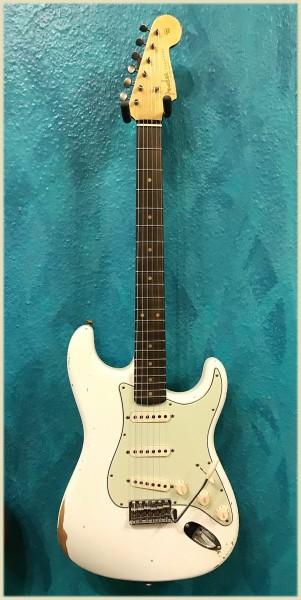 Fender® Custom Shop '62 Strat Olympic White