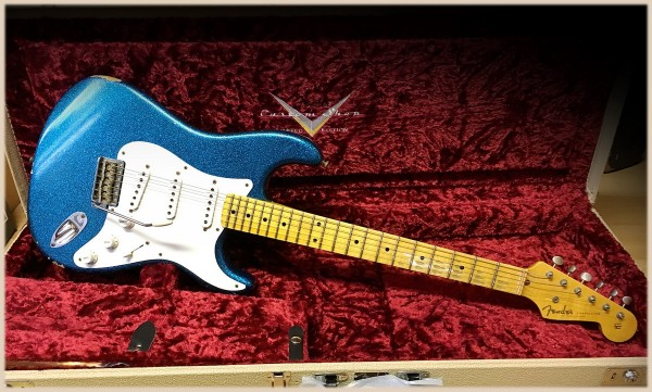 Fender® Custom Shop '55 Relic Maple AG Blue Sparkle