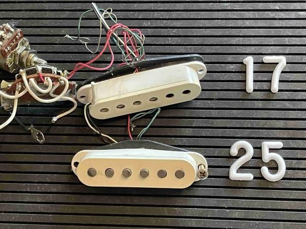 YMS Stratocaster stacked Pickups von DiMarzio