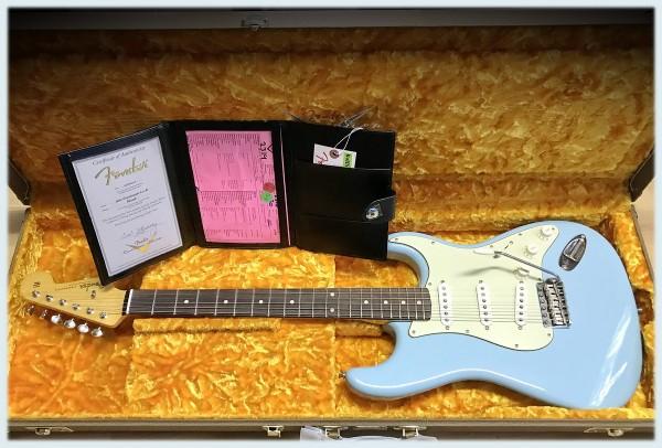 Fender® Custom Shop 1960 Strat Lush Closet Classic Daphne Blue