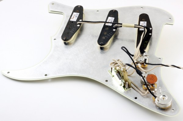Prewired Strat Pickguard