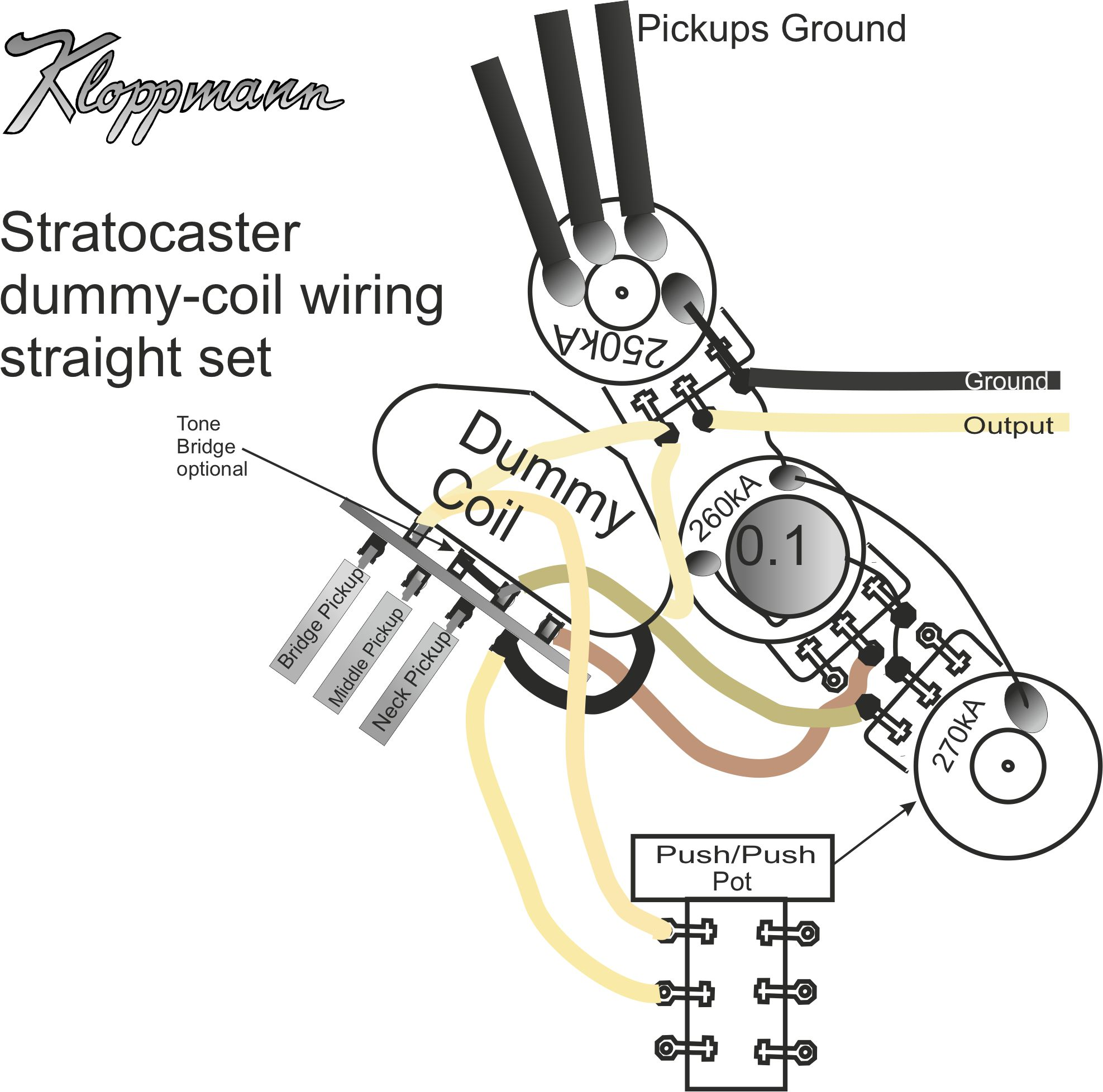 Tele P90 Single Coil Wiring Diagram