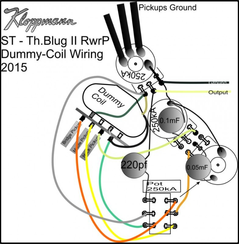 wiring and installation support kloppmann electrics rh kloppmann electrics com Fender Telecaster Wiring-Diagram Telecaster Humbucker Wiring-Diagram