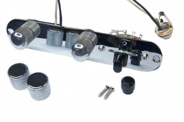 Tele Control Plate - mounted