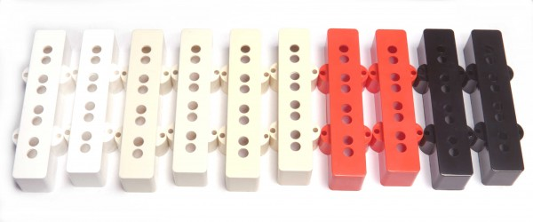 Covers for Jazz Bass Pickups