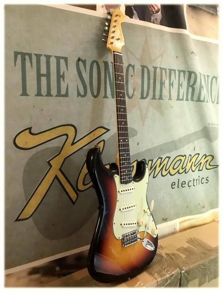 NEU! Fender® Custom Shop '60 Journeyman Relic 3-tone sunburst