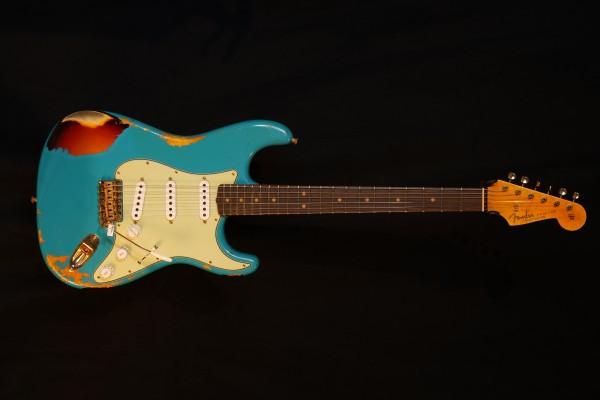 NEU! Fender® Custom Shop 63 Strat Heavy Relic TAO o. 3TS