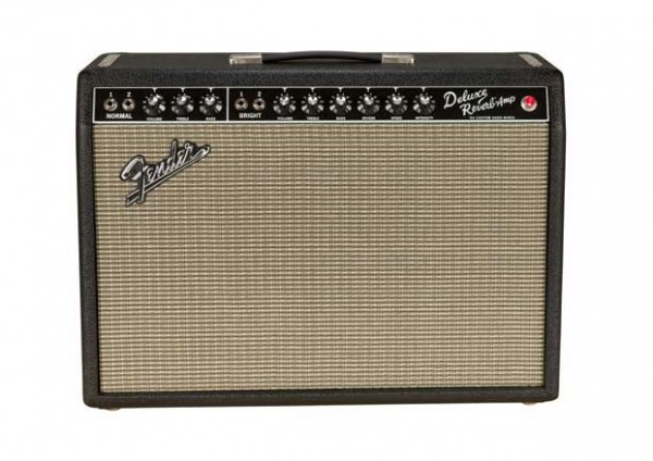 Hand-Wired Fender \'64 Custom Blackface Deluxe Reverb Amp ...